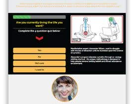 #4 for Design a landing page based on example by mdrahad114