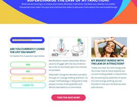 #7 untuk Design a landing page based on example oleh TheSRM