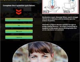 #22 untuk Design a landing page based on example oleh rahatmahmud176
