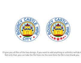 #42 untuk Bouncy Castle Hire Logo oleh Tawsib