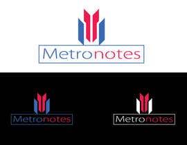 #11 for Design a Logo for Metronotes af nazmulhassan2321