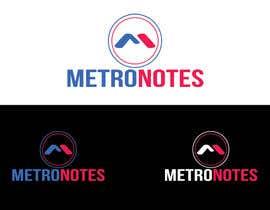 #15 for Design a Logo for Metronotes af nazmulhassan2321