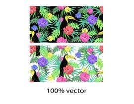 #14 for Graphic design for floral print to be used on fabric by Sarumal