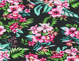 #19 for Graphic design for floral print to be used on fabric by noshinfariaprova