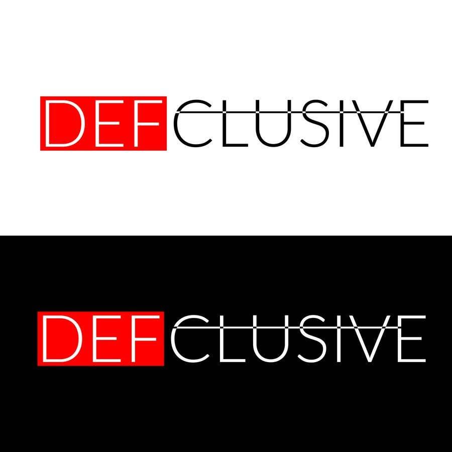 Kilpailutyö #1813 kilpailussa Defclusive needs a logo!