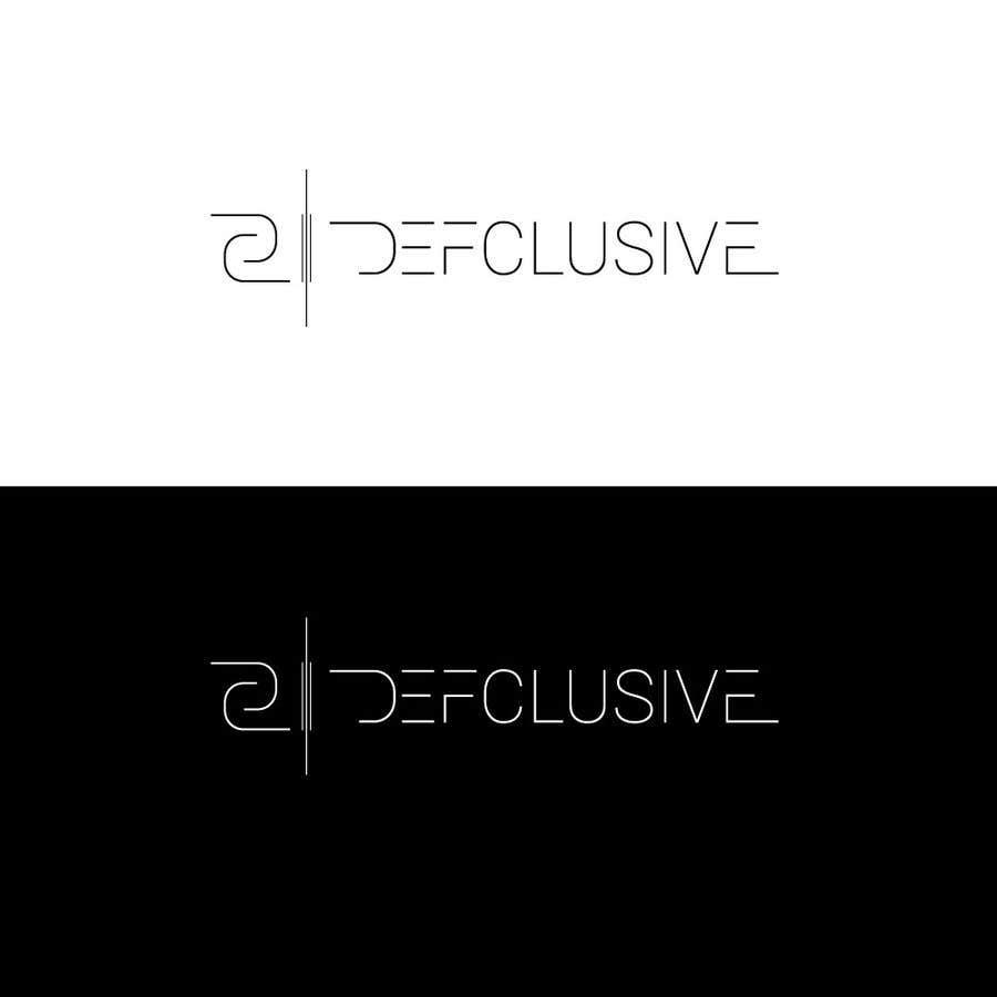 Kilpailutyö #1508 kilpailussa Defclusive needs a logo!