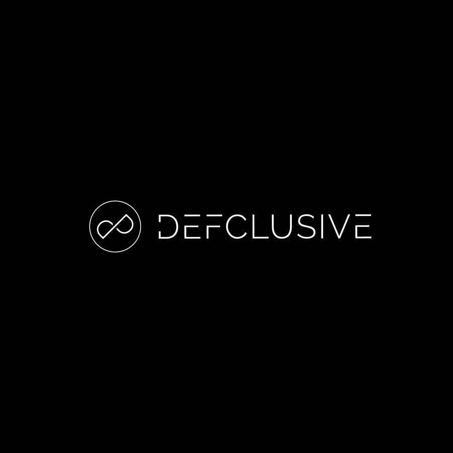 Kilpailutyö #1851 kilpailussa Defclusive needs a logo!
