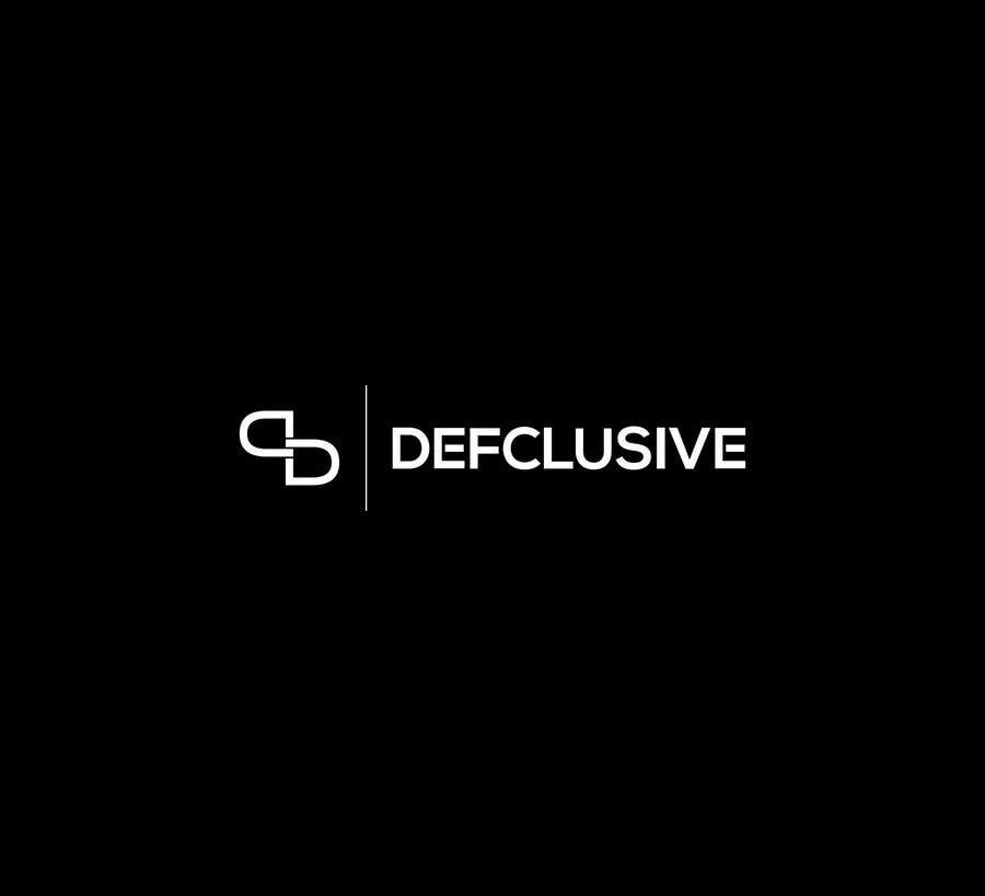 Kilpailutyö #1621 kilpailussa Defclusive needs a logo!