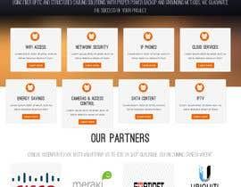 nº 116 pour New IT company needs a website design par NabilRayhan17