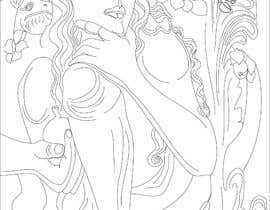 #12 для B & W Coloring book page in style of Moebius от ashvinirudrake13