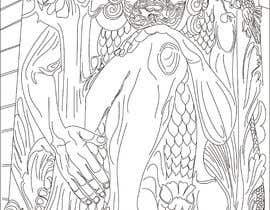 #13 для B & W Coloring book page in style of Moebius от ashvinirudrake13