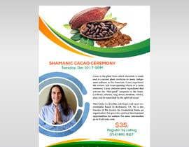 #53 pentru Flyer for Cacao Ceremony de către RABIN52