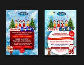 #12 para Design 2x Flyers for Christmas Carols at Mandalay 2019 por mtjobi