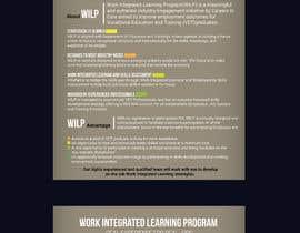 #5 pentru BROCHURE FOR WORK INTEGRATED LEARNING PROGRAM de către saurov2012urov