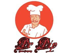 DashingHumZza tarafından Dr.Dip - Sauce Company 3D Logo için no 5