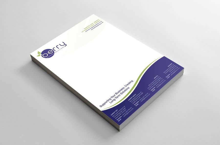 Bài tham dự cuộc thi #71 cho Design letterhead for business
