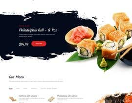 #4 for Website creation for a food outlet af nusafayet