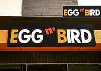 Graphic Design Entri Peraduan #317 for Design Restaurant Name for exterior signage