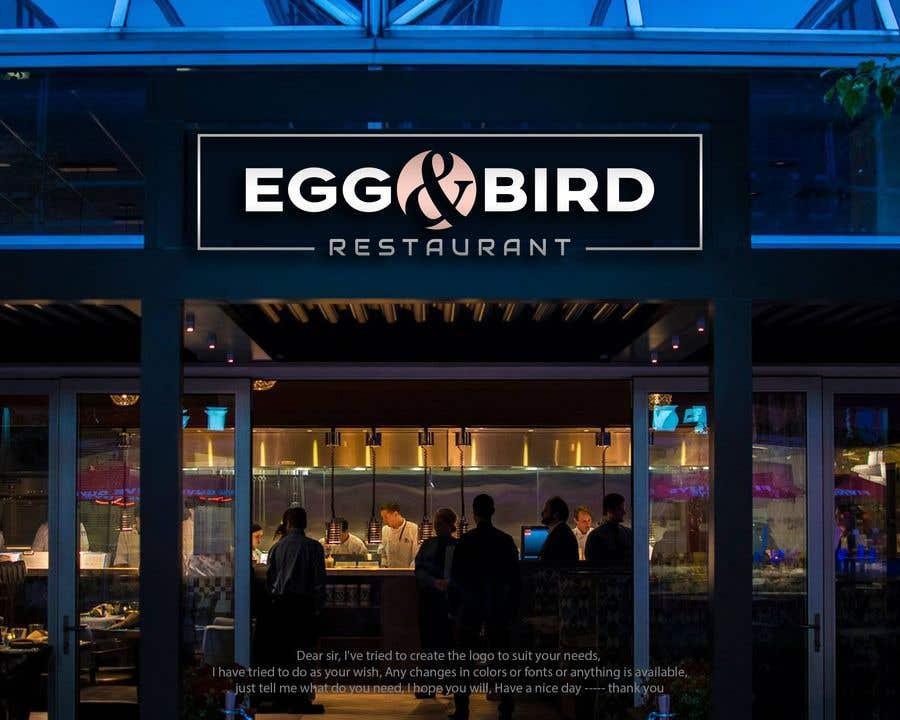 Penyertaan Peraduan #303 untuk Design Restaurant Name for exterior signage
