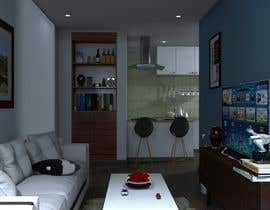 #28 for 3D Photo realistic render for a modern living & dining room (repost of contest ID 1666539) by TMKennedy