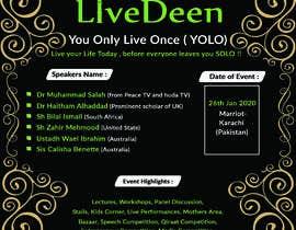 #59 untuk Poster for a Islamic Conference oleh vaijaanabir1