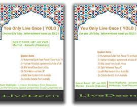 tufaelhossin tarafından Poster for a Islamic Conference için no 54