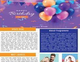 mdrahad114 tarafından Build newsletter template için no 14
