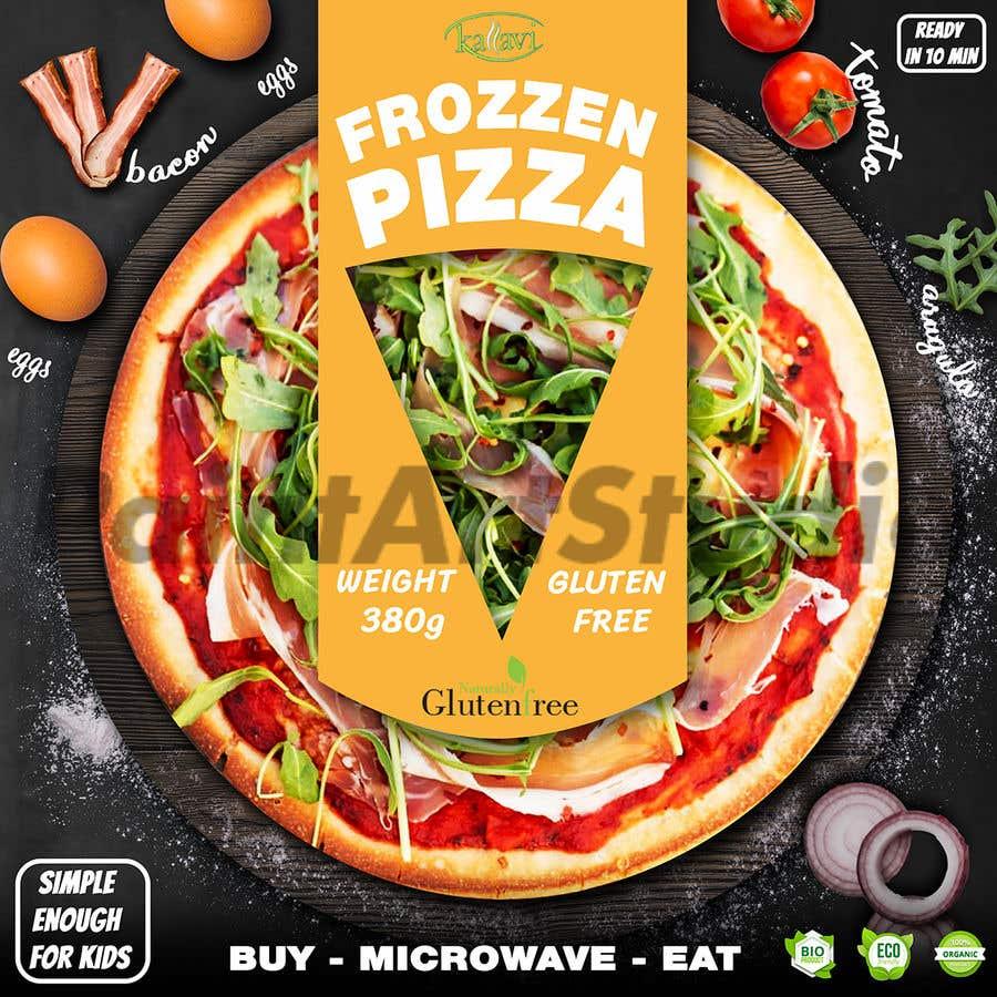Penyertaan Peraduan #13 untuk Pizza Packaging Design