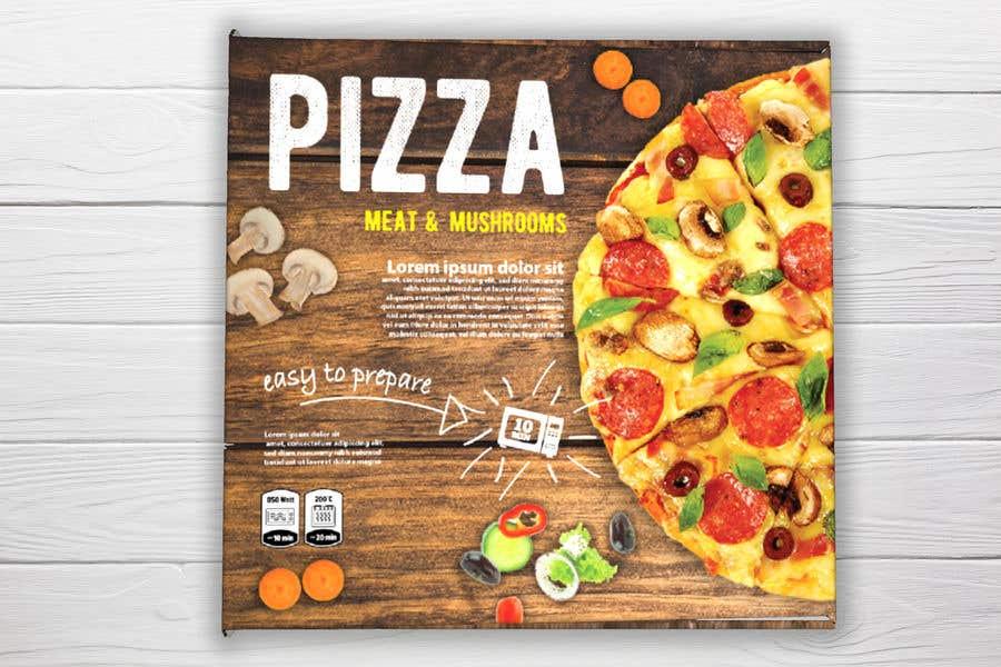Penyertaan Peraduan #24 untuk Pizza Packaging Design