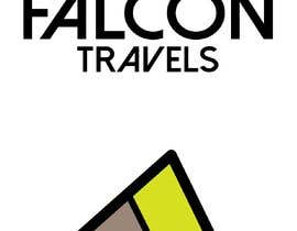 #174 for Logo design for new travel and tourism company selling travel tickets, hotel booking, and other tours .  Name of company is FALCON TRAVEL by purvisha7