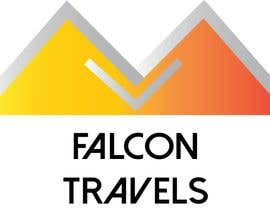 #196 untuk Logo design for new travel and tourism company selling travel tickets, hotel booking, and other tours .  Name of company is FALCON TRAVEL oleh purvisha7