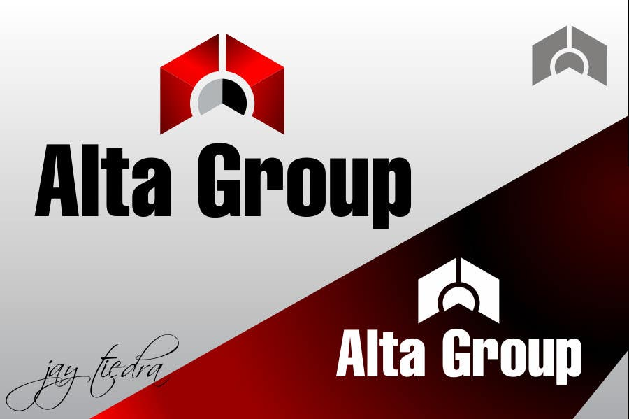 Konkurransebidrag #164 i Logo Design for Alta Group-Altagroup.ca ( automotive dealerships including alta infiniti (luxury brand), alta nissan woodbridge, Alta nissan Richmond hill, Maple Nissan, and International AutoDepot