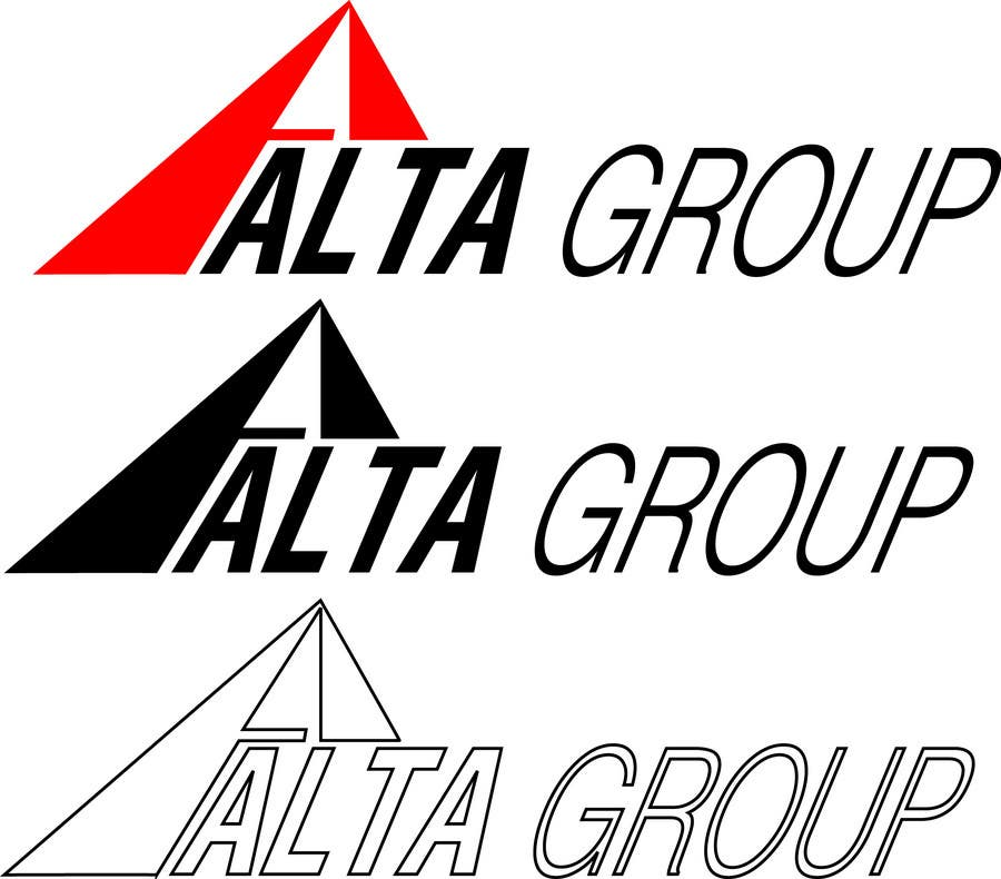 Конкурсная заявка №117 для Logo Design for Alta Group-Altagroup.ca ( automotive dealerships including alta infiniti (luxury brand), alta nissan woodbridge, Alta nissan Richmond hill, Maple Nissan, and International AutoDepot