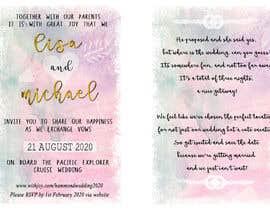 snowdropj12 tarafından Wedding Invitation için no 15