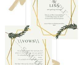 qilamohdomar tarafından Wedding Invitation için no 7