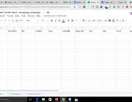 #2 untuk Marketing and make Google shopping sheet oleh almamunraju520