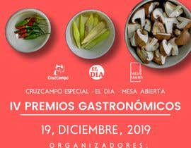 #64 untuk DISEÑO DE CARTEL PREMIOS GASTRONÓMICOS oleh EIIIIII