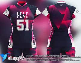 #8 для Design a Sport Volleyball Jersey от allejq99
