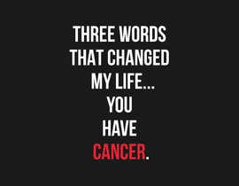 #2 untuk I want a T shirts for cancer awareness.  The word Cancer should be in different colors to represent the different types of Cancer.  This will be placed on a dark colored shirt. oleh miladinka1