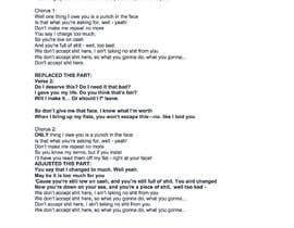 #7 pentru Write lyrics for the second verse of the song de către TrevorRolls81