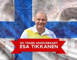 #13 untuk Suunnittele esite for NHL star Esa Tikkanen oleh skanone
