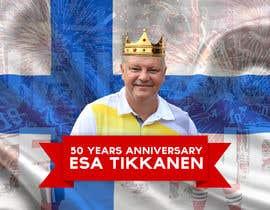 #14 untuk Suunnittele esite for NHL star Esa Tikkanen oleh skanone