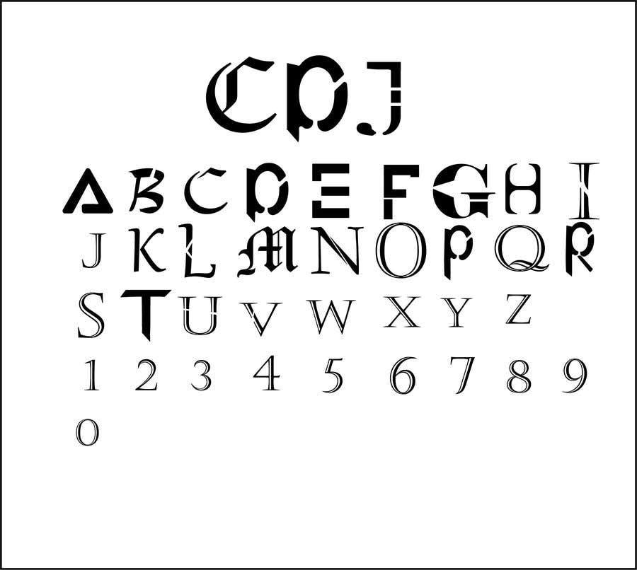 Bài tham dự cuộc thi #241 cho Make a set on fonts
