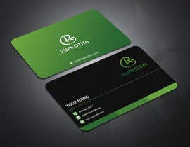 #110 untuk Need a Business Card with the Logo I provided. oleh GraphicsArif