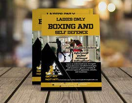 #21 cho Design a LADIES ONLY BOXING poster - A4 size bởi eradhossin7