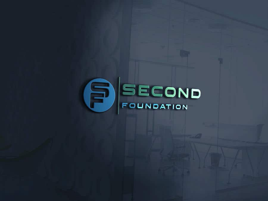 Contest Entry #28 for Logo: Company name: Second Foundation,  You can use full text as SECOND FOUNDATION or SF or S&F