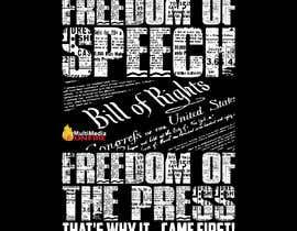 #14 для First Amendment T Shirt от mdminhajuddin