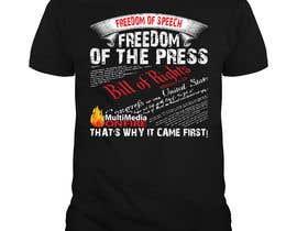 #49 для First Amendment T Shirt от enam247