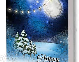 #72 pentru Blue Moon Holiday Card Illustration de către kathleenandrews