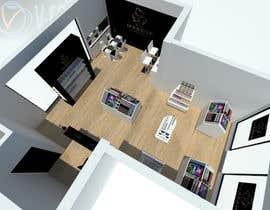 #4 para Interior Design of a retail Space por cecioconor